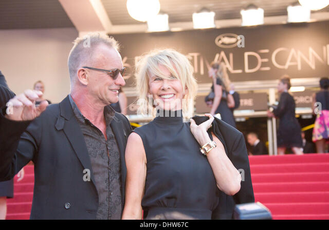 Sting and his wife Trudie Styler,  'Mud' premiere during the 65th Annual Cannes Film Festival. Cannes, France - Stock-Bilder