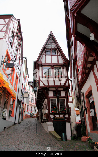 A traditional german town - Stock Image