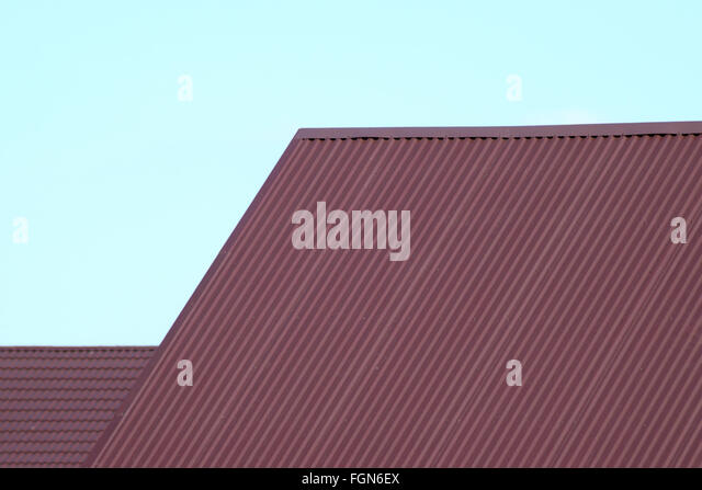 Slate Roof Modern House Stock Photos Slate Roof Modern