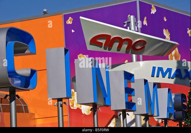 LA California Los Angeles CA Universal City Walk Citywalk AMC IMAX cinema holiday holidays travel us usa vacation - Stock Image