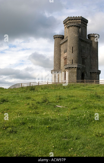 Paxtons Tower Llanarthne Carmarthenshire Wales Stock ... | 345 x 540 jpeg 61kB