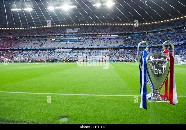 UEFA Detail: Allianz Arena Champions League Final Stock Photos