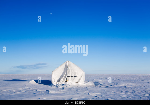 Tent isolated stock photos tent isolated stock images for Ice fishing near me