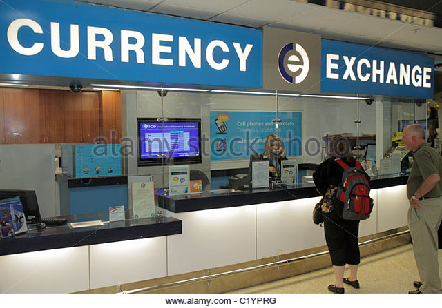 Currency exchange brokers