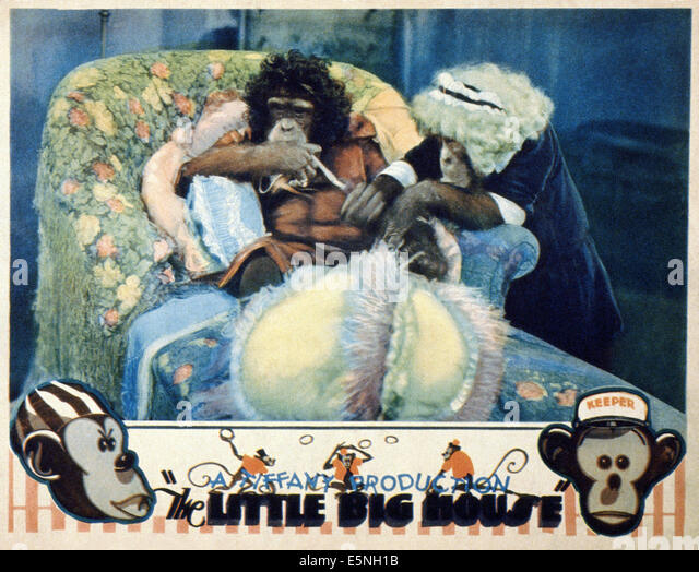 THE LITTLE BIG HOUSE, ca. 1931 - Stock Image