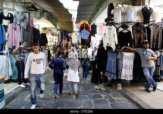 Souk, Medina, Tunis, Tunisia, North Africa, Africa - Stock Image