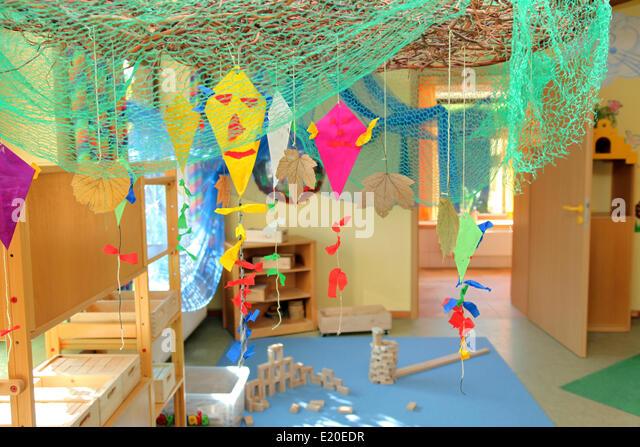 Nursery or kindergarten - Stock Image
