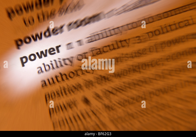 Concept - Power - Stock Image