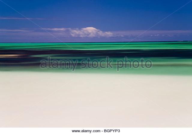 Beach & Indian Ocean, Cervantes, Western Australia, Australia - Stock Image