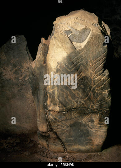 Neolithic art stock photos images