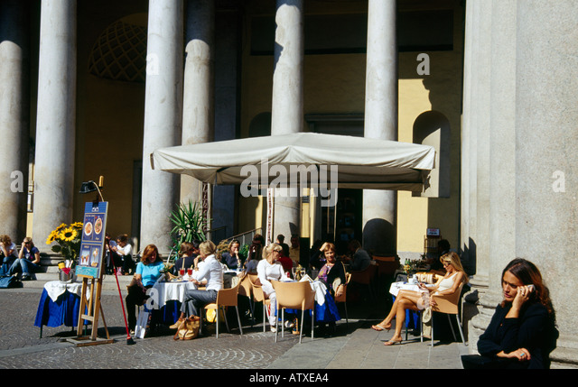 Vittorio Emanuele Milano Italy - Stock Image