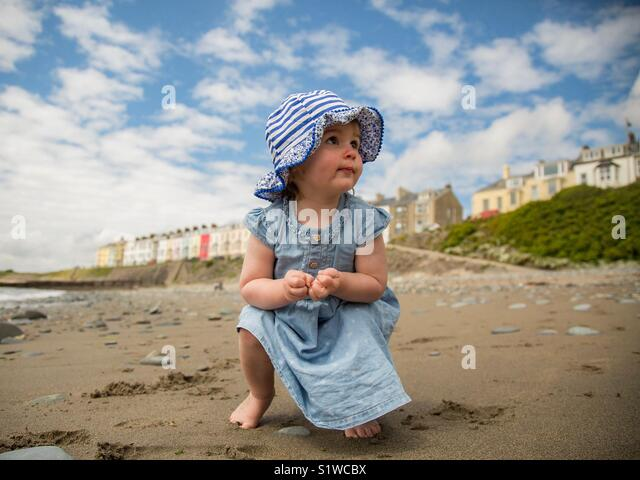 Curious child - Stock Image