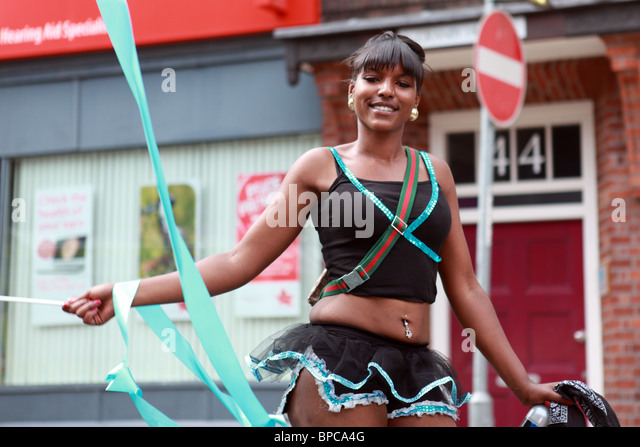 Notting Hill Carnival Nottinghill London UK England - Stock-Bilder