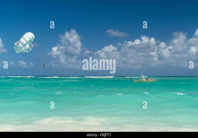 Bavaro, Punta Cana,  Dominican Republic, Carribean, America, - Stock Image