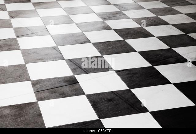 Linoleum stock photos linoleum stock images alamy for Checkered lino flooring