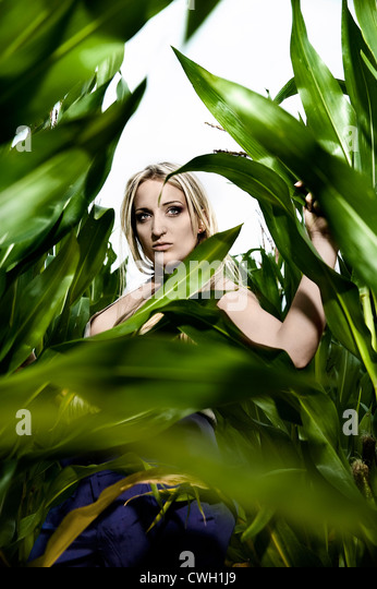 young woman,individuality,uniqueness - Stock Image