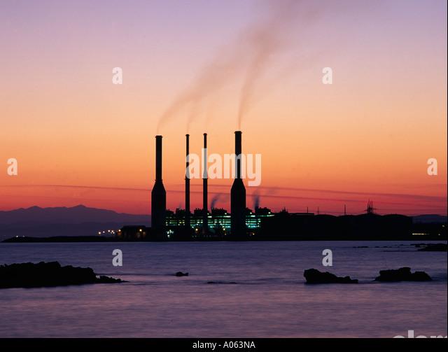 Larnaca, Industry - Stock-Bilder