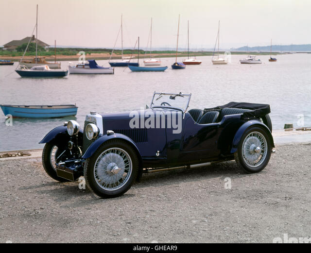 1936 Aston Martin International 1 5 litre Country of origin United Kingdom - Stock Image