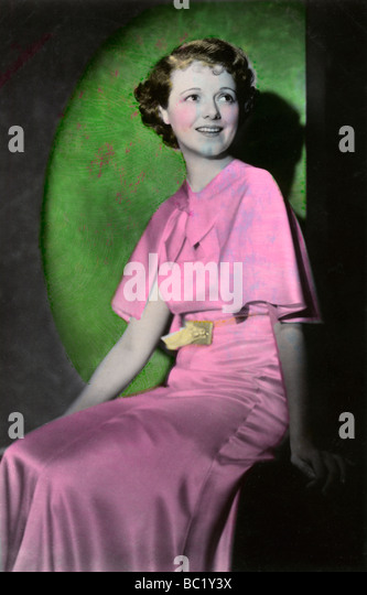Janet Gaynor (1906-1984), American actress, 20th century. - Stock Image