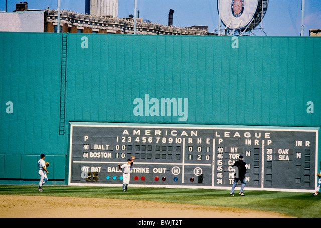 Major League Baseball Scoreboard Stock Photos Major League Baseball Scoreboard Stock Images
