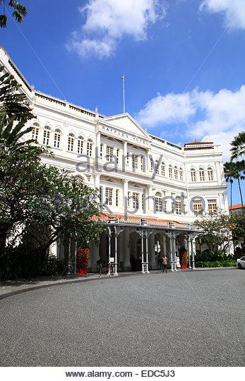 Raffles Hotel - Stock Image