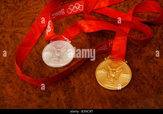 olympic medals 2008 stock photos amp olympic medals 2008