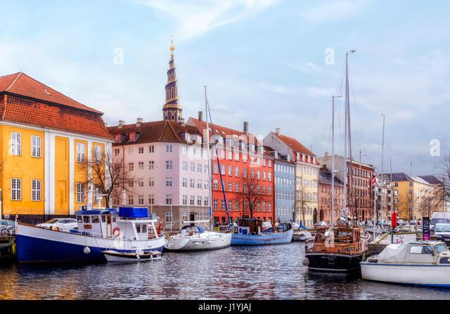 Church of Our Saviour, Copenhagen, Denmark, Scandinavia - Stock-Bilder