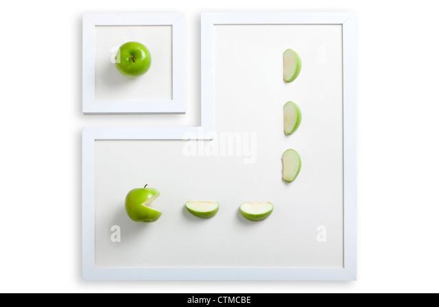 Fresh Apple - Stock Image