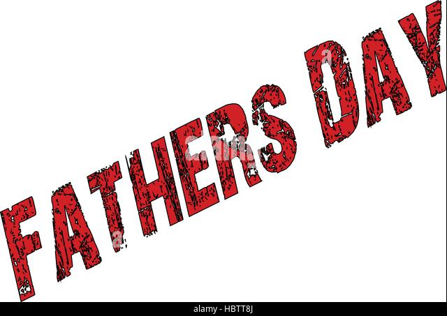 Fathers Day sign - Stock Image