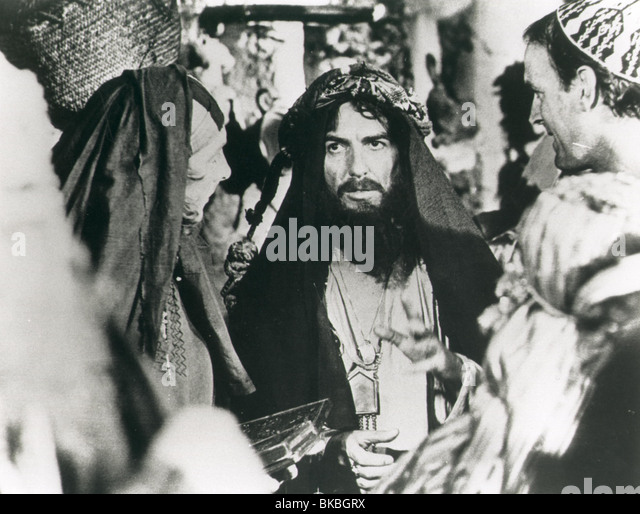 MONTY PYTHON'S LIFE OF BRIAN (1979) ERIC IDLE, GEORGE HARRISON, JOHN CLEESE LOB 002P - Stock Image