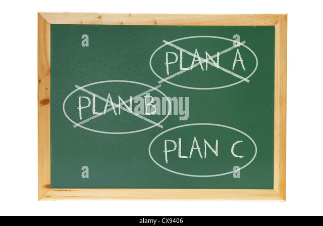 Blackboard with Option Concept - Stock Image