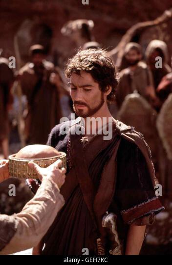 Nathaniel Parker   Der Hirtenjunge David (Nathaniel Parker) wird zum Koenig der Israeliten auserwaehlt. *** Local - Stock Image