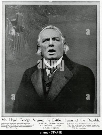 LLOYD GEORGE/1920 - Stock Image