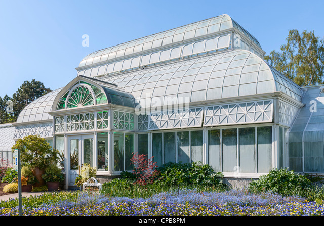 Volunteer Park Conservatory, Seattle - Stock Image