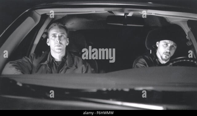 Jul 23, 2002; Hollywood, CA, USA; Actor NICOLAS CAGES as Randall 'Memphis' Raines & GIOVANNI RIBISI - Stock Image