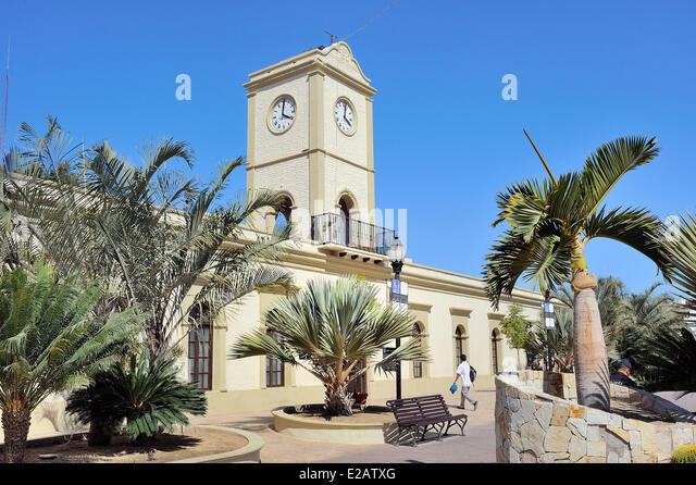 Mexico, Baja California Sur State, San Jose del Cabo, The City Hall - Stock Image