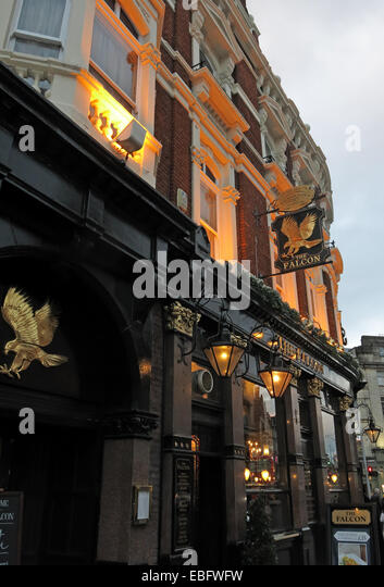 The Falcon Pub, Clapham Junction,Battersea, London, England,UK - Stock Image