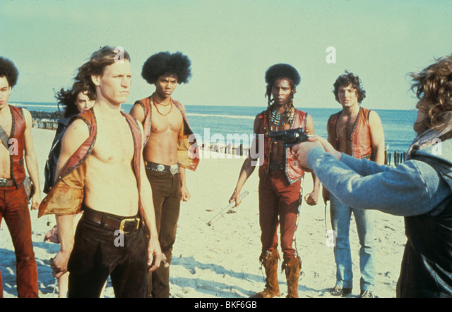 THE WARRIORS (1979) MICHAEL BECK, BRIAN TYLER, DAVID HARRIS, TERRY MICHOS WARS 008 L - Stock Image