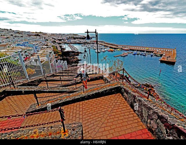 Puerto del carmen marina stock photos puerto del carmen marina stock images alamy - Port del carmen lanzarote ...