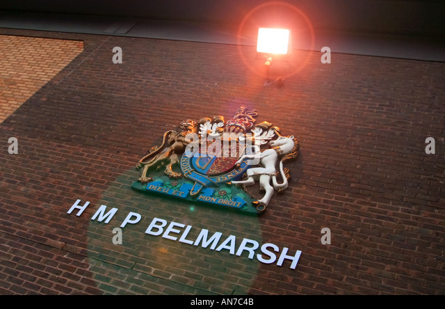 Belmarsh High Security Prison in the outskirts of London - Stock Image