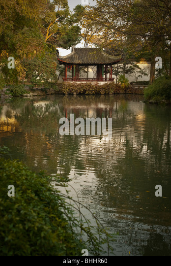 The Humble Administrator's Garden, Suzhou, Jiangsu province, China, Asia - Stock Image