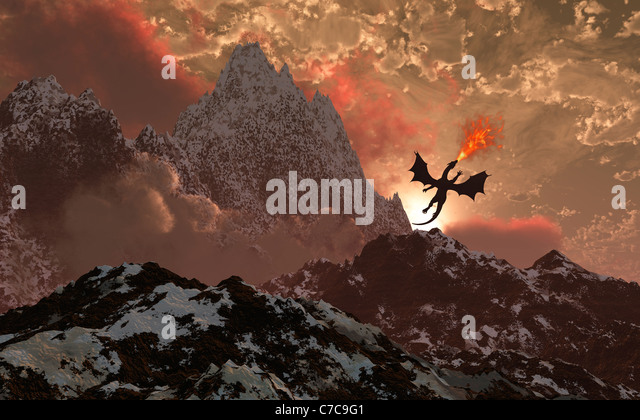 First Light. - Stock Image