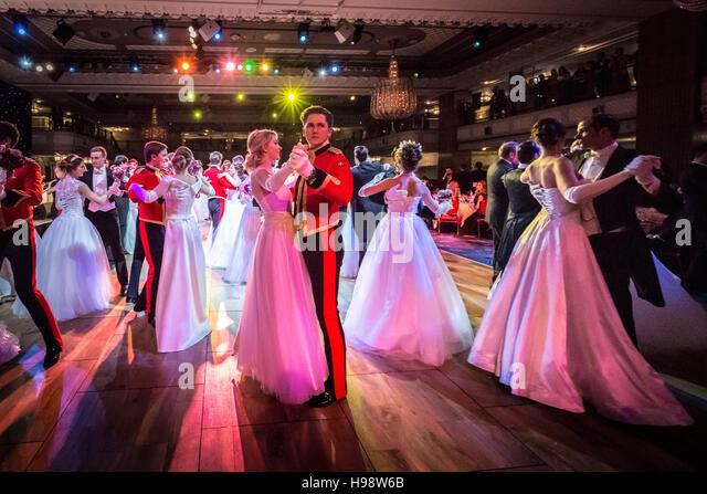 London, UK. 19th November, 2016. Fourth Russian Debutante Ball © Guy Corbishley/Alamy Live News - Stock Image