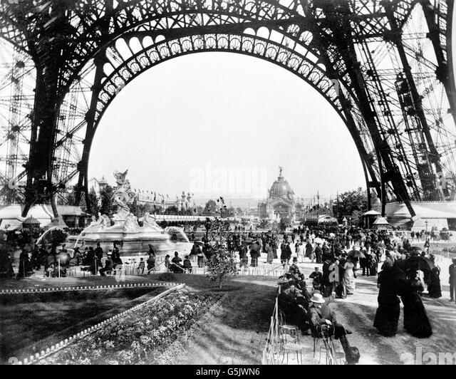 Paris exhibition 1889 stock photos paris exhibition 1889 for Expo paris mars