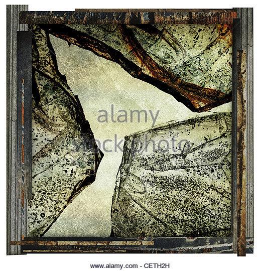 abstract ice photography - Stock-Bilder