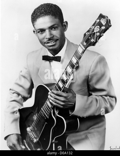 ERNIE BROWN   US Blues musician about 1950 - Stock Image