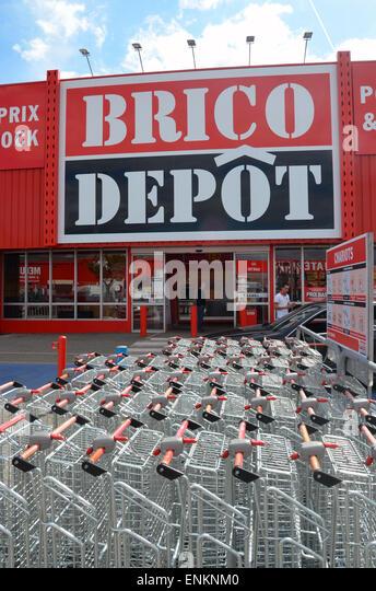 Brico Depot, DIY store, France - Stock Image