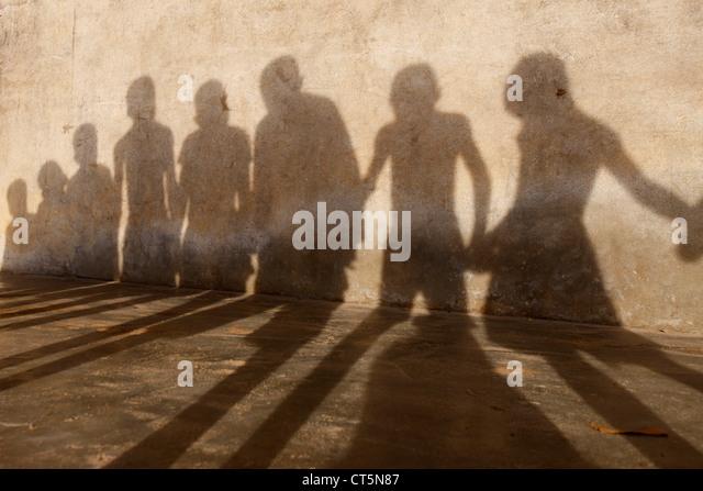 GROUP OF CHILDREN - Stock-Bilder