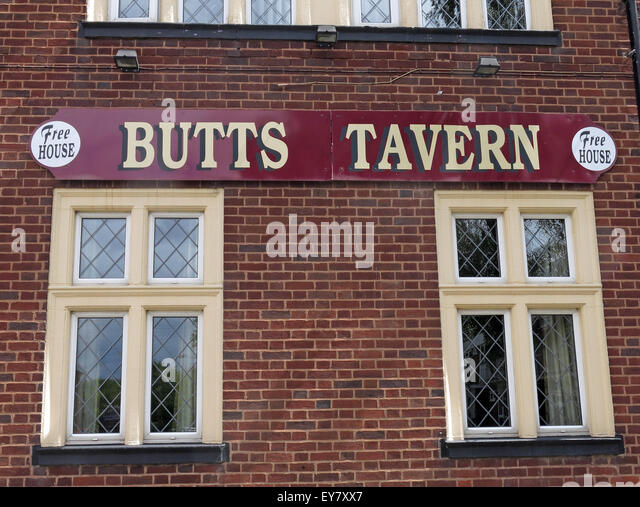 The Butts Tavern, Butts St,Walsall,West Midlands,England, UK - Stock Image