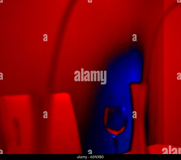 Abstract view of dining table - Stock Image